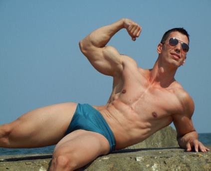 Guy Alone (Gay) - Muscular